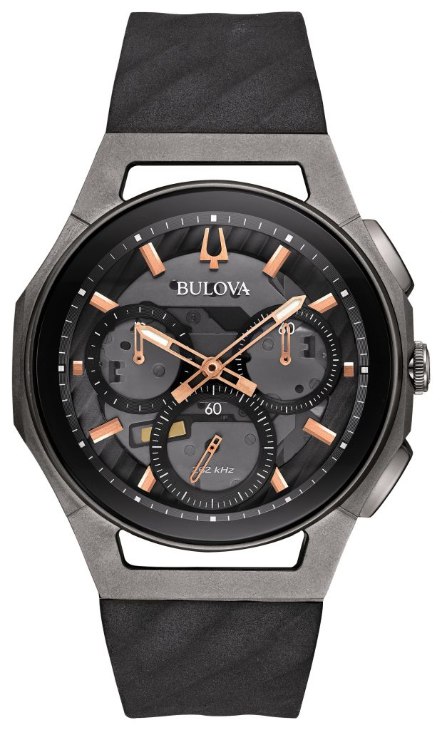 Bulova Curv Chronograph Watch 98A162