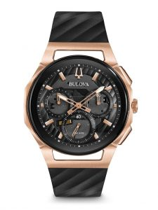 Bulova Curv Chronograph Watch 98A185