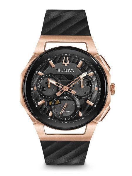 Bulova Curv Chronograph Watch 98A185