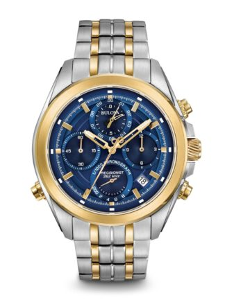 Bulova Men's Precisionist Chronograph Watch 98B276