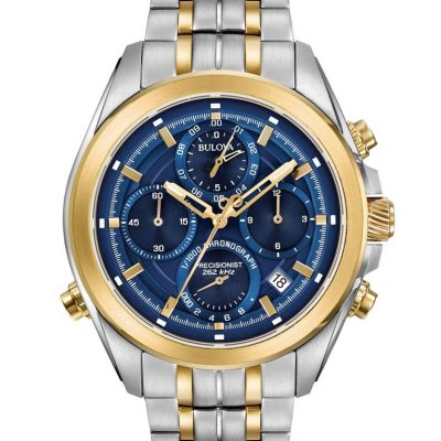 Bulova Men's Precisionist Chronograph Watch 98B276
