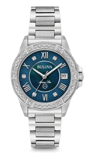 Bulova Women's Marine Star Diamond Watch 96R215