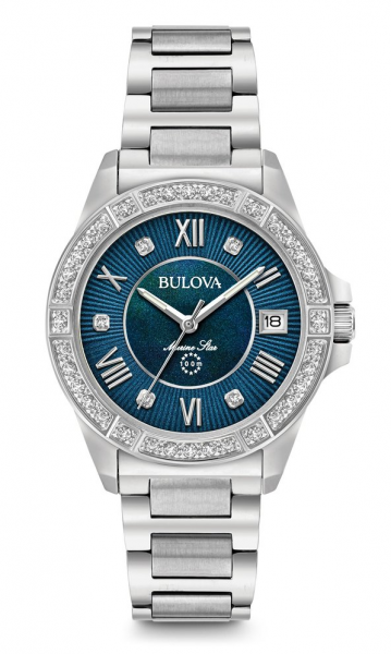 Bulova Women's Marine Star Diamond Watch 96R215
