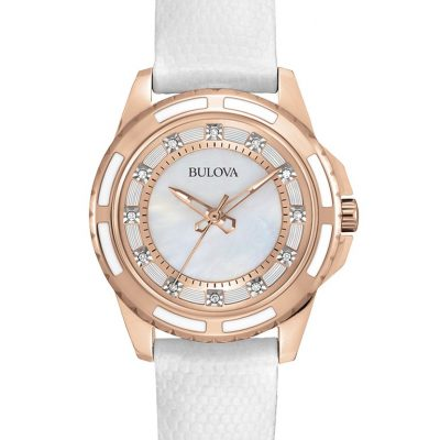 Bulova Women's Classic Diamond Watch 98P119