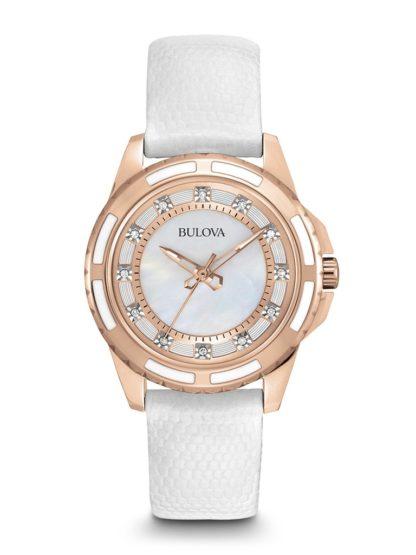 Bulova Women's Classic Diamond Watch 98P119
