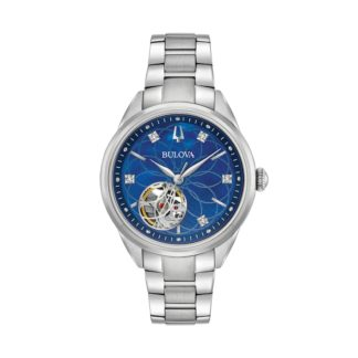 Bulova Women's Diamond Automatic 96P191