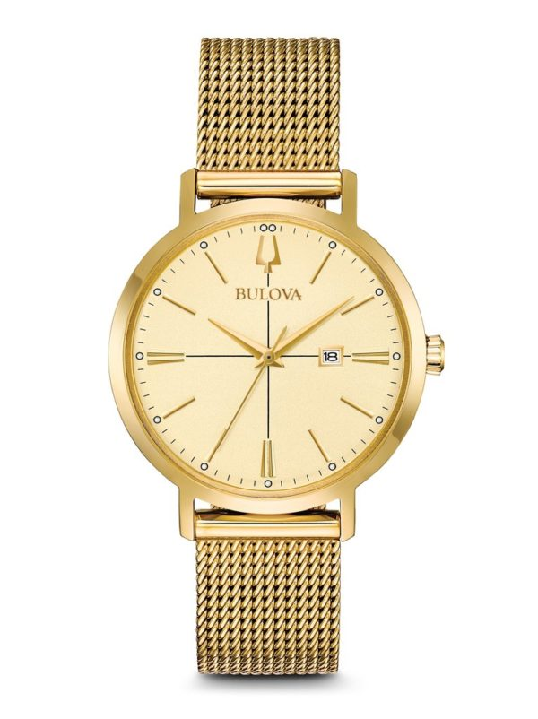 Bulova Gold Women's Classic Watch 97M115