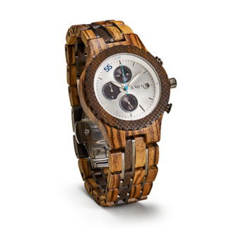 Jord Conway Zebrawood Mens Watch J041Q02M