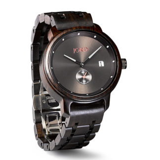 Jord Hyde Ebony Mens Watch J043Q02U