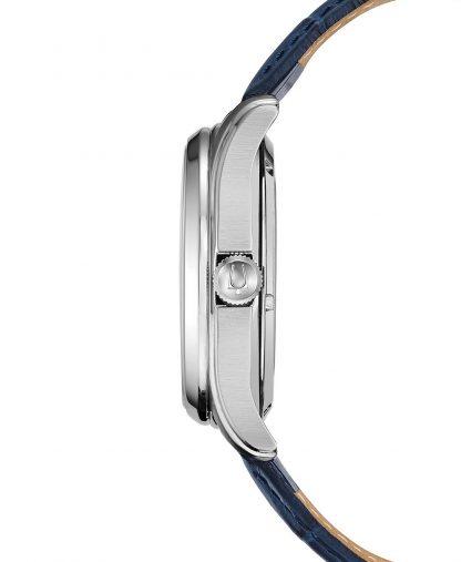 Bulova Automatic Blue Mens Watch 96A206