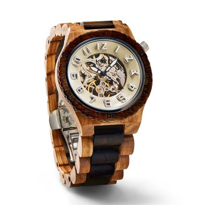 Jord Dover Zebrawood Mens Watch J8004A02M