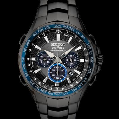 Seiko Coutura Black Ion Mens Watch SSG021
