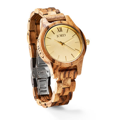 Jord Frankie Champagne Unisex Watch