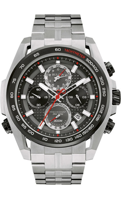 Bulova Precisionist Chronograph Watch 98B270